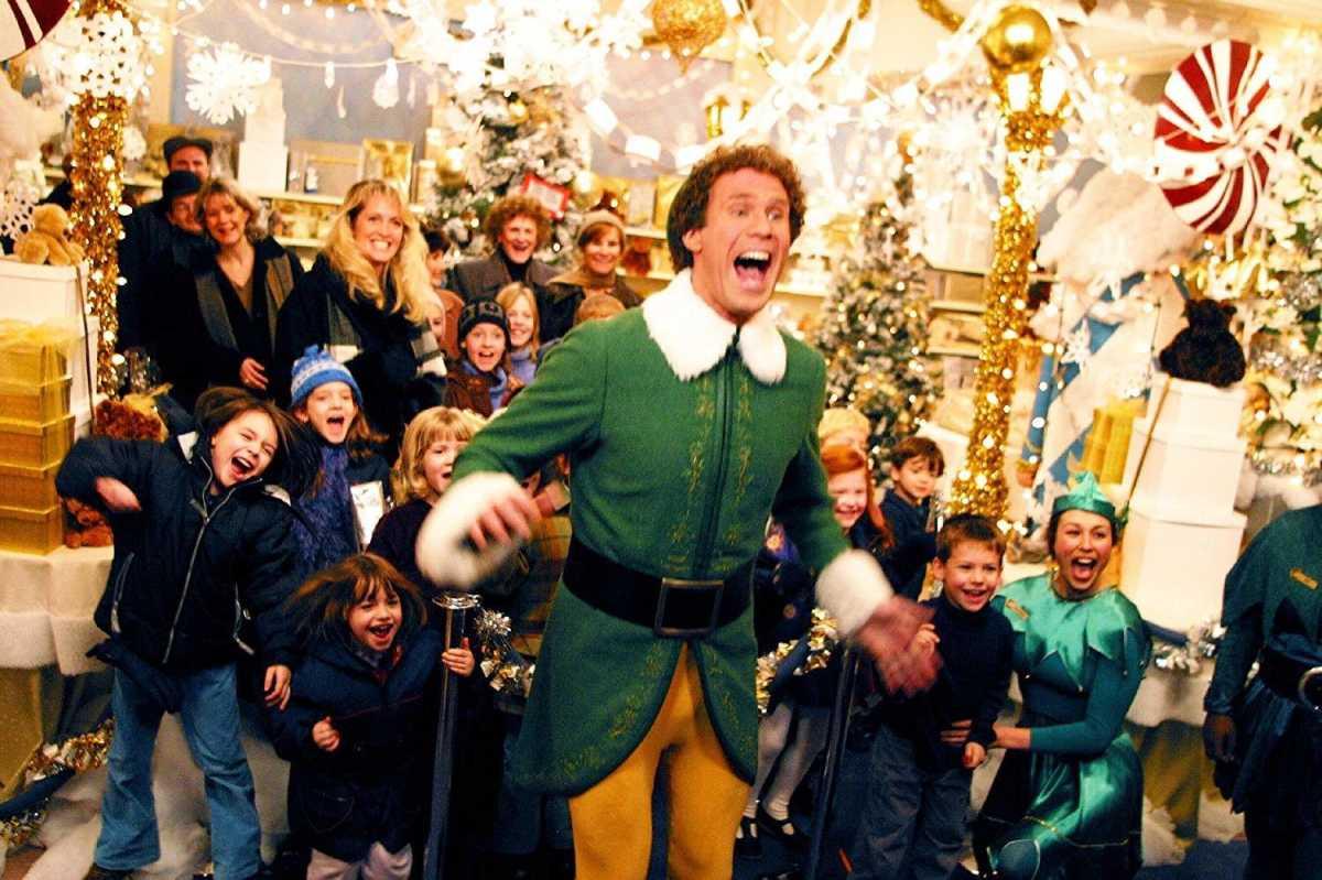 Will Ferrel in Elf
